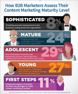 Infographic - content marketing