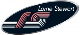 Graphic design logo of Lorne Stewart