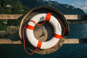 life ring near water
